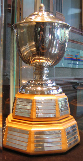 James Norris Memorial Trophy - Image: Hhof norris