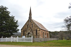 Thomas Rowe - Image: Hill End Presbyterian Church