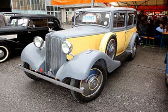 Hillman 20 - 1935 Twenty 70 in Italy