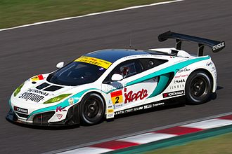 McLaren 12C - McLaren MP4-12C GT3