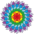Hirschhorn 6-fold-rotational symmetry pentagonal tiling.png