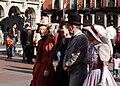 Historical re-enactors in period outfits (Valladolid, España - 11-05-2008).jpg