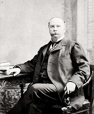 Garret Hobart - Hobart at his desk.