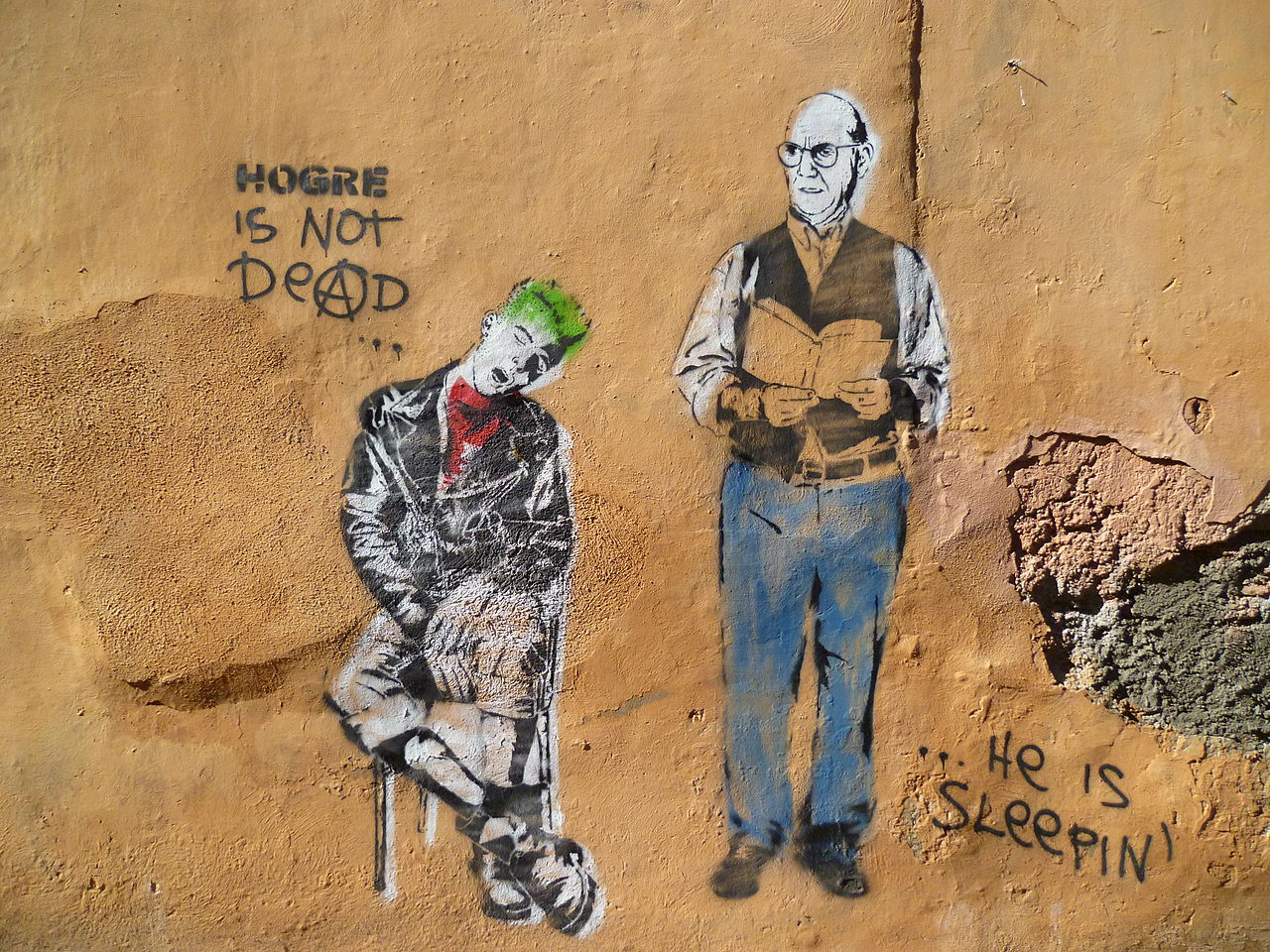 Hogre is not dead ... Street art Rome.jpg