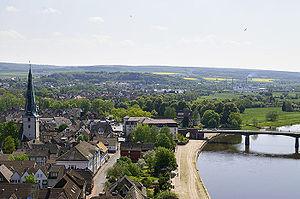 Altstadt und Weserufer