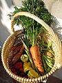 Homegrown vegetables from my grandmother's garden (2865700045).jpg