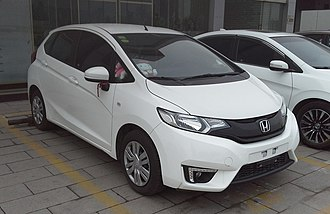 Guangqi Honda - Image: Honda Fit GK China 2016 04 12