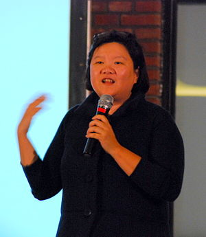 Hong Huang at TEDxBeijing 2009.JPG