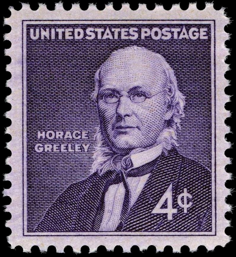 Horace Greeley 1961 issue