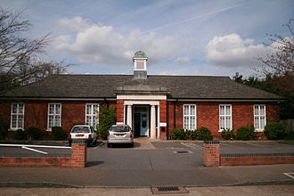 RAF Hornchurch - Astra House, the former Officers Mess