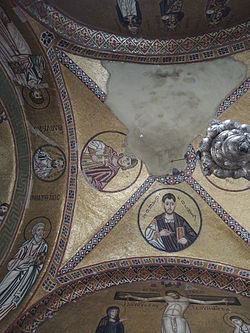 Hosios Loukas (narthex) - North ceiling 02 (October, 2014) by shakko.jpg