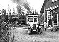 Hotings station 1930-tal. Diligenstrafiken linjerna Sollefteå - Strömsund - Jormlien - Ankarede..jpg