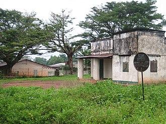 Boda, Lobaye - Fading colonial heritage in Boda.