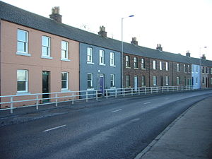 Granton, Edinburgh - Houses in Lower Granton Road