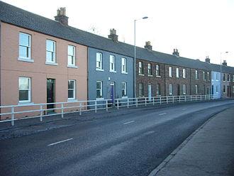 Granton, Edinburgh - Houses in Lower Granton Road