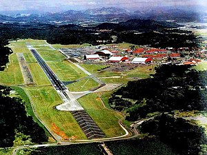 Panama Canal Zone - Howard Air Force Base in 1970