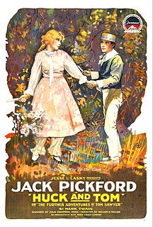 <i>Huck and Tom</i> 1918 film by William Desmond Taylor