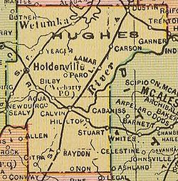 Hughes County Oklahoma Wikipedia - Counties of oklahoma map