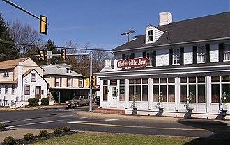 Hulmeville, Pennsylvania - Downtown Hulmeville