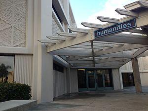 Irvine High School - Exterior of Humanities Building