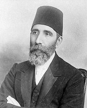 Yemen Vilayet - Huseyin Hilmi Pasha, Governor of Yemen Vilayet Before Grand Viziers at Ottoman Empire.