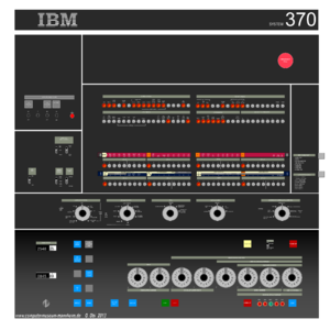 IBM System/370 - System/370-145 system console.