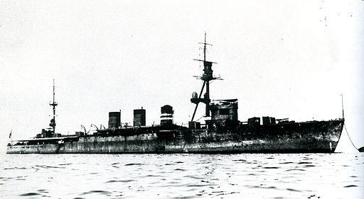IJN Oi in 1923 at Kure