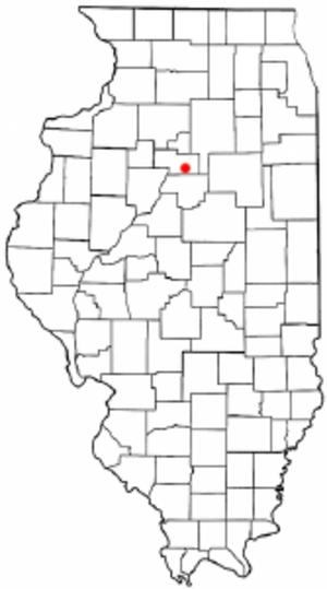 La Rose, Illinois - Location of LaRose, Illinois