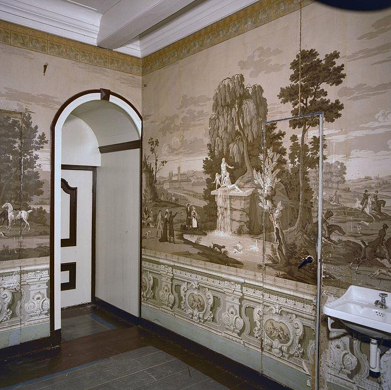 File interieur kamer wandbeschildering behang for Behang kamer