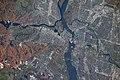 ISS-63 Ottawa River with Rideau and Gatineau Rivers in Ottawa, Canada.jpg