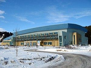 Khanty-Mansiysk - Image: Ice palace of Khanty Mansiysk