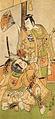 Ichimura Uzaemon IX and Otani Hiroji III (1768).jpg