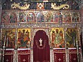 Iconostasis at the church of new Filosofou Monastery.jpg