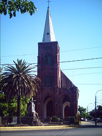 Curicó - San Francisco Church before 2010