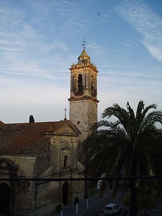 Battle of Bornos (1812) - Santo Domingo Church in Bornos