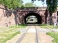Ignatz-Bubis-Brücke mit Verbindungsbahn.jpg