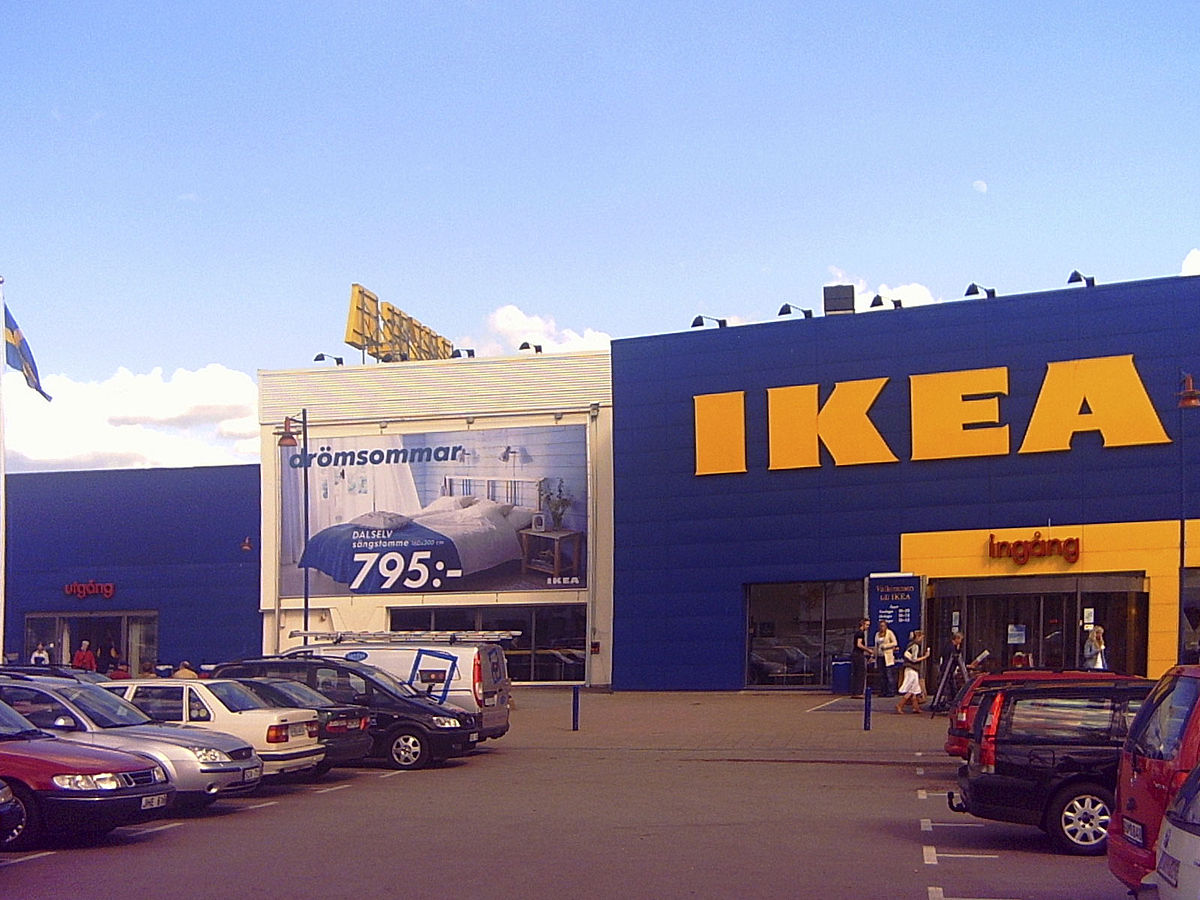 Ikea wikip dia for Magasin de meubles ikea le plus proche
