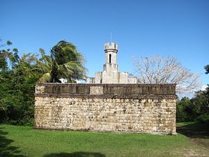 Isle of Pines (New Caledonia) - Water tower in Ouro