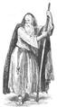 Illustrirte Zeitung (1843) 05 014 2 Ligier in der Rolle des Friedrich Barbarossa, als Bettler.PNG