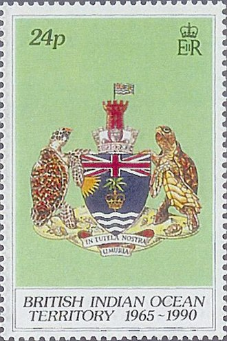 British Indian Ocean Territory - 1990 stamp of British Indian Ocean Territory.