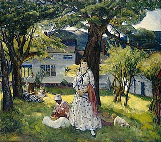 Leon Kroll - Image: In the Country by Leon Kroll