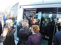 Inauguration de la branche vers Vieux-Condé de la ligne B du tramway de Valenciennes le 13 décembre 2013 (100).JPG