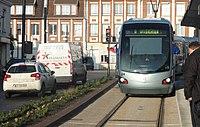 Inauguration de la branche vers Vieux-Condé de la ligne B du tramway de Valenciennes le 13 décembre 2013 (126).JPG
