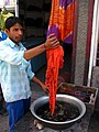 India - Ladakh - Leh - 029 - traditional hand dying (3842460663).jpg
