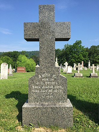 John Collins Covell - Image: Indian Mound Cemetery Romney WV 2015 06 08 27