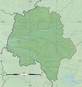 Voir sur la carte topographique d'Indre-et-Loire