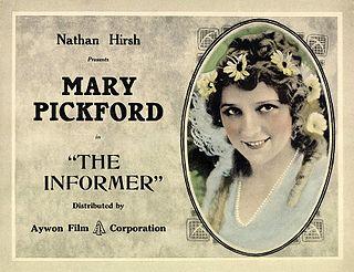 <i>The Informer</i> (1912 film) 1912 film