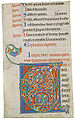 Initial V 12th century Bible Abbey of Pontigny.jpg