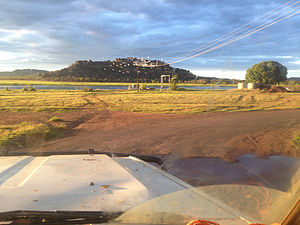 Gunbalanya, Northern Territory - Injalak Hill, with many rock art galleries, is Gunbalanya's main tourist attraction