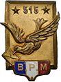 Insigne Bureau postal militaire 515.jpg